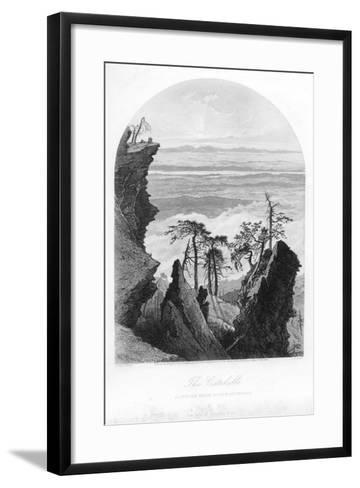 The Catskills, Sunrise from South Mountain, 1873--Framed Art Print