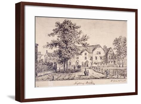Highbury Barn, Islington, London, 1770--Framed Art Print