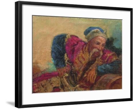 Otaman Ivan Sirko, 1889-Ilya Yefimovich Repin-Framed Art Print