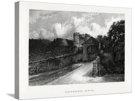 Carisbrooke Castle, Newport, Isle of Wight, 1896--Stretched Canvas Print