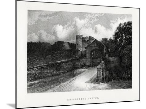 Carisbrooke Castle, Newport, Isle of Wight, 1896--Mounted Giclee Print