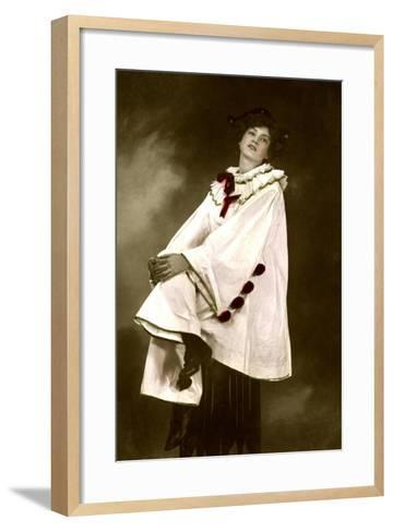 Gabrielle Ray (1883-197), English Actress, 1906-Foulsham and Banfield-Framed Art Print