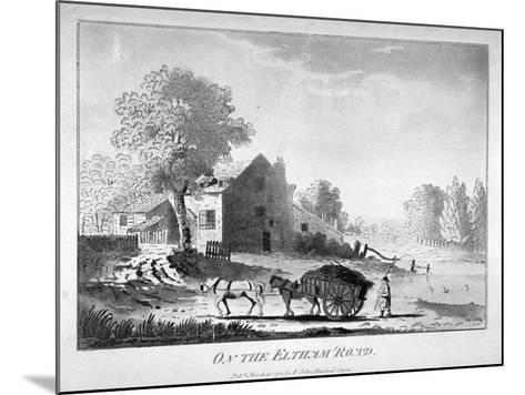 Horse and Cart on the Eltham Road in Woolwich, Kent, 1788--Mounted Giclee Print