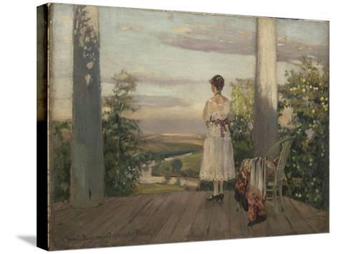 Country House of Anton Chekhov at Melikhovo, 1910S-Sergei Arsenyevich Vinogradov-Stretched Canvas Print