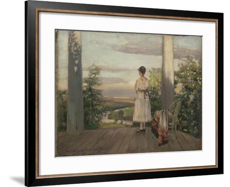 Country House of Anton Chekhov at Melikhovo, 1910S-Sergei Arsenyevich Vinogradov-Framed Art Print