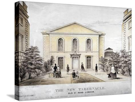 The Tabernacle, Old Street, Finsbury, London, C1850-Ford and West-Stretched Canvas Print