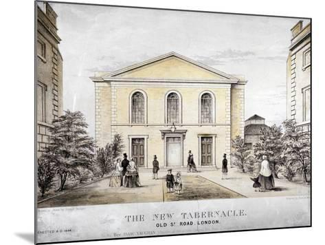 The Tabernacle, Old Street, Finsbury, London, C1850-Ford and West-Mounted Giclee Print