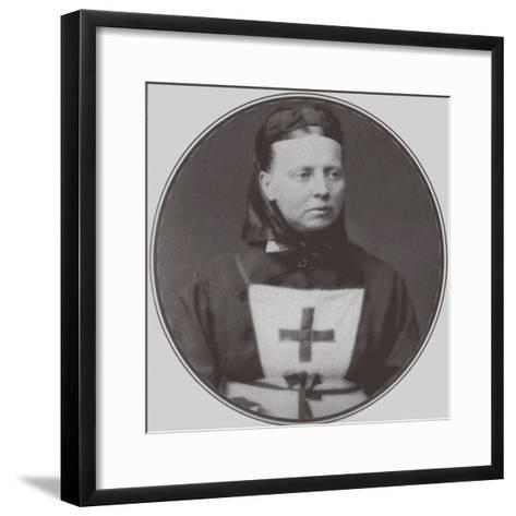 Grand Duchess Alexandra Petrovna of Russia--Framed Art Print