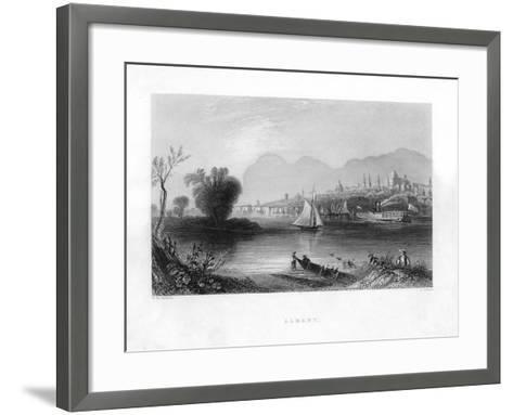Albany, New York--Framed Art Print