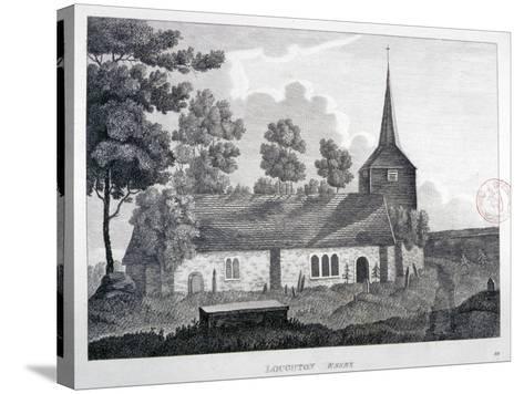 Church of St Nicholas, Loughton, Essex, 1809--Stretched Canvas Print