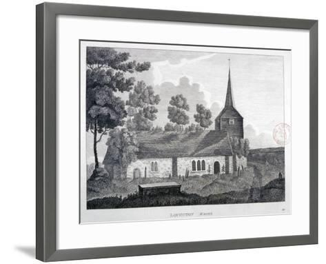 Church of St Nicholas, Loughton, Essex, 1809--Framed Art Print