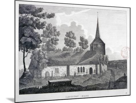 Church of St Nicholas, Loughton, Essex, 1809--Mounted Giclee Print