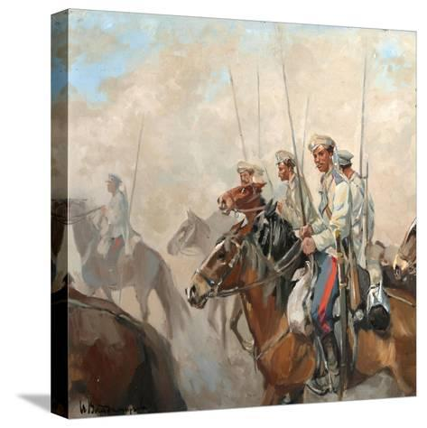Cossacks, 1910S-Ivan Alexeyevich Vladimirov-Stretched Canvas Print