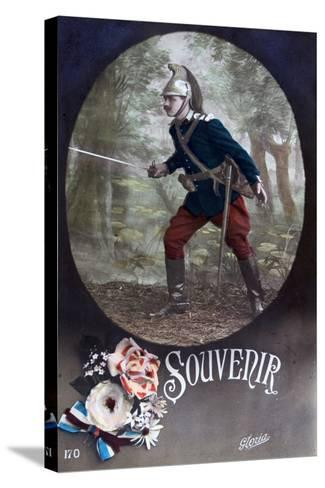 French WWI Postcard, 1914-1918--Stretched Canvas Print