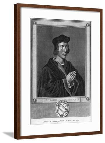 Sir John Fortescu, 1793--Framed Art Print