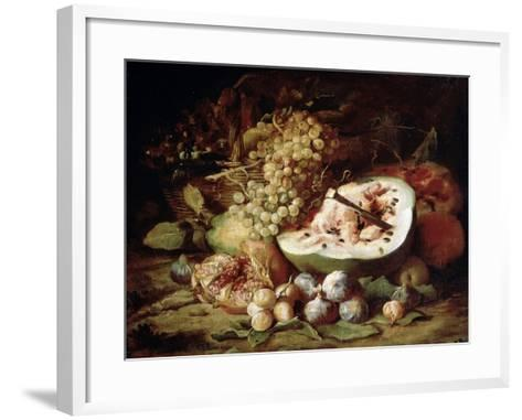 Fruits, 1670s-Abraham Brueghel-Framed Art Print