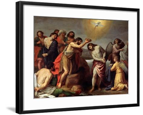The Baptism of Christ, Late 16th or 17th Century-Alessandro Turchi-Framed Art Print