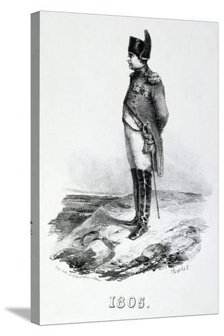 Napoleon 1St, 1805, 19th Century--Stretched Canvas Print