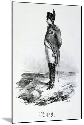 Napoleon 1St, 1805, 19th Century--Mounted Giclee Print