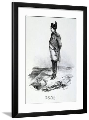 Napoleon 1St, 1805, 19th Century--Framed Art Print