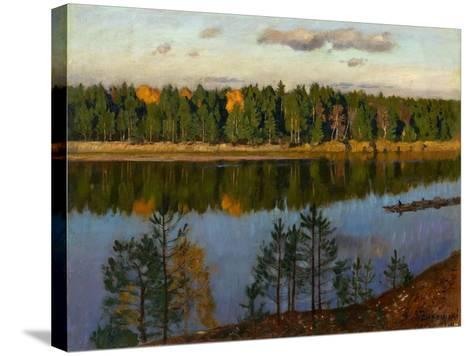 Autumn, 1930-Stanislav Yulianovich Zhukovsky-Stretched Canvas Print
