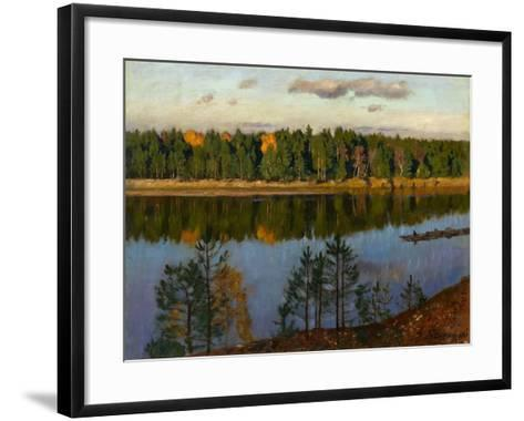 Autumn, 1930-Stanislav Yulianovich Zhukovsky-Framed Art Print