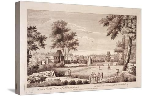 South View of Kensington, London, C1750--Stretched Canvas Print