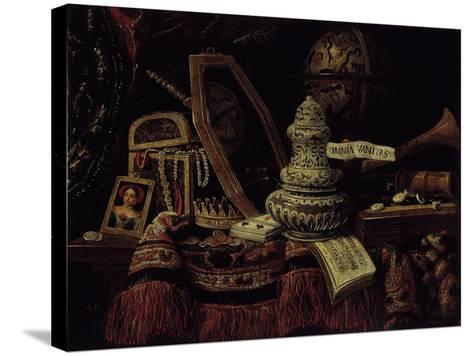 Vanity, 1670--Stretched Canvas Print