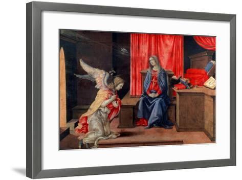 The Annunciation, Early 1490S-Filippino Lippi-Framed Art Print