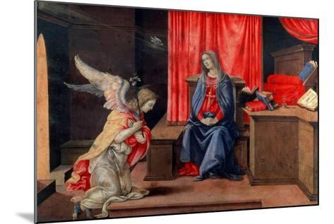 The Annunciation, Early 1490S-Filippino Lippi-Mounted Giclee Print