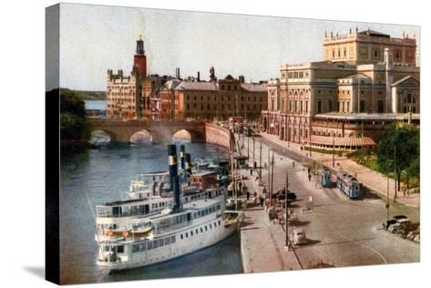 Royal Opera House, Stockholm, 20th Century--Stretched Canvas Print