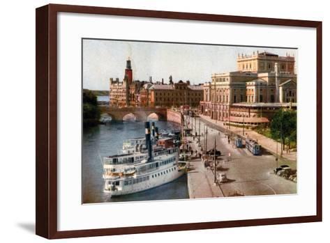 Royal Opera House, Stockholm, 20th Century--Framed Art Print