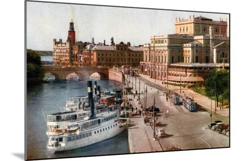 Royal Opera House, Stockholm, 20th Century--Mounted Giclee Print