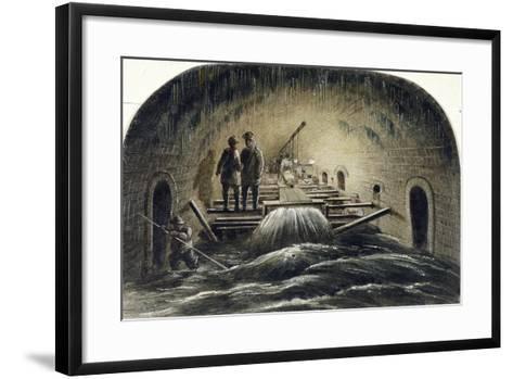 Fleet River, London, 1854--Framed Art Print