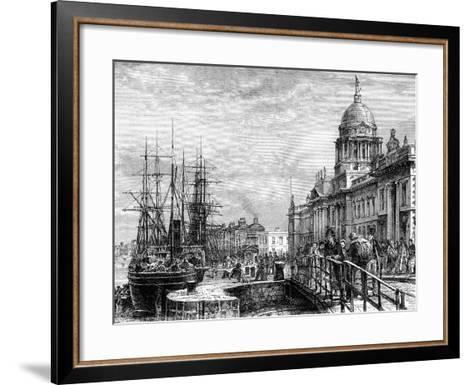 Dublin, Ireland, 19th Century-Weber-Framed Art Print