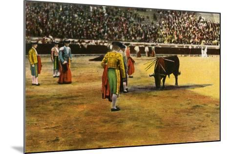 Bull Fight, 20th Century--Mounted Giclee Print