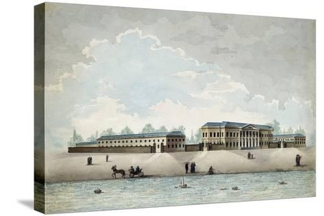 The Pashkov House in Moscow, 1800S-Antonio Canoppi-Stretched Canvas Print