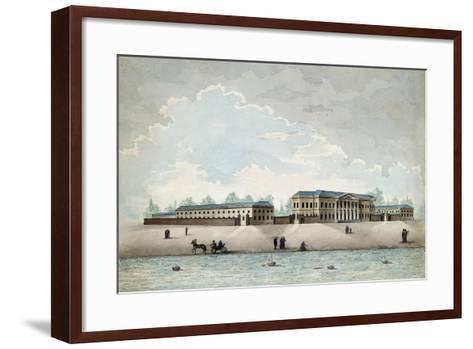 The Pashkov House in Moscow, 1800S-Antonio Canoppi-Framed Art Print