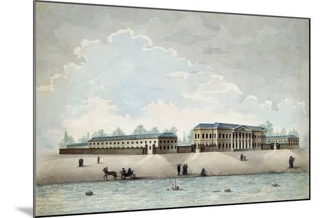 The Pashkov House in Moscow, 1800S-Antonio Canoppi-Mounted Giclee Print