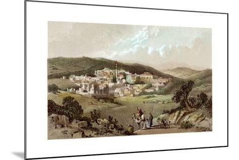 Nazareth, Israel, 19th Century--Mounted Giclee Print