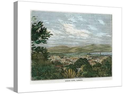 Hobart Town, Tasmania, Australia, C1880--Stretched Canvas Print