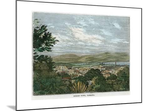 Hobart Town, Tasmania, Australia, C1880--Mounted Giclee Print