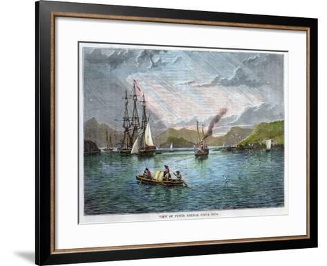View of Punta Arenas, Costa Rica, C1880--Framed Art Print
