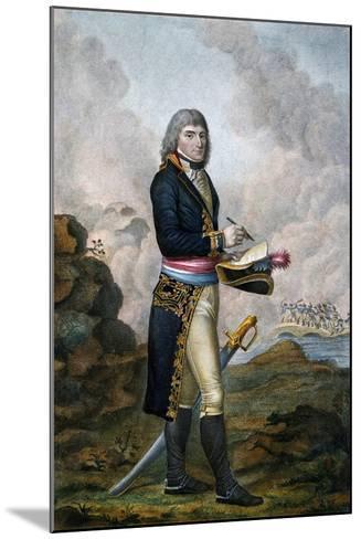Napoleon Bonaparte, 19th Century--Mounted Giclee Print