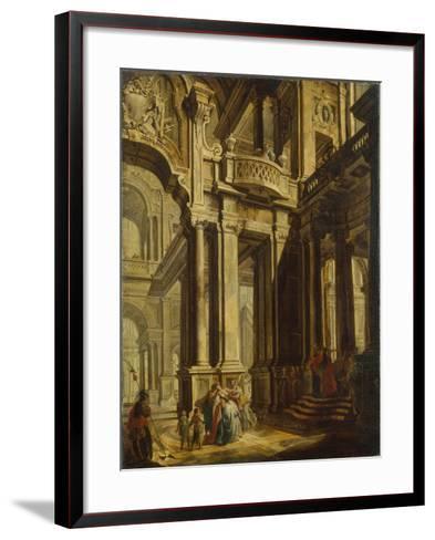 Esther before Ahasuerus--Framed Art Print