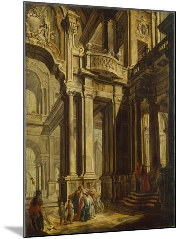 Esther before Ahasuerus--Mounted Giclee Print