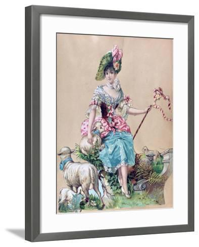 Little Bo Peep--Framed Art Print