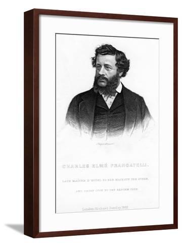 Charles Elme Francatelli, 1862--Framed Art Print