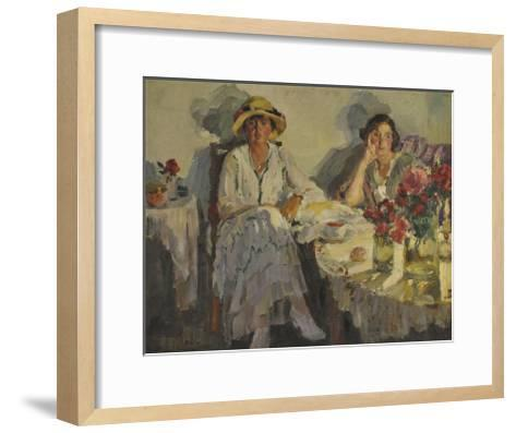 Autumn Evening Coming Down, 1915-Sergei Arsenyevich Vinogradov-Framed Art Print