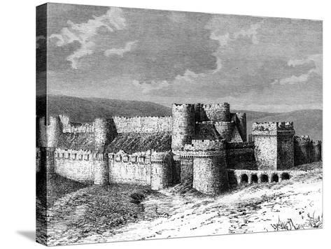 Al Karak Castle, 19th Century--Stretched Canvas Print